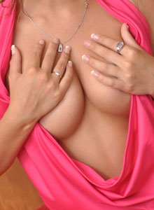 Busty Teen Hailey Teases With Her Big Perfect Breasts - Picture 10