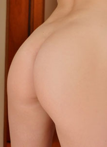 Cute Teen Hailey Shows Off Her Tight Round Ass In A Tiny Thong - Picture 12